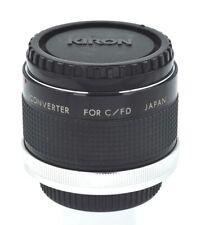 KIRON MC7 2X TELECONVERTER / Canon FD Mount