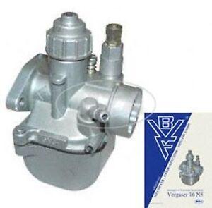 SIMSON  Motor  Vergaser  BVF 16 N3-3 für Roller SR80 Original BVF Qualität