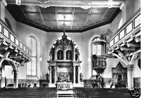 AK, Bad Schandau, St. Johanniskirche, Altar, 1966