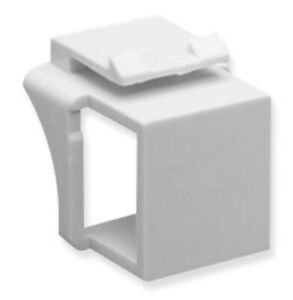 New ICC IC107BN0WH BlankModConnect 10PK WHITE INSERT-WH 633758004381
