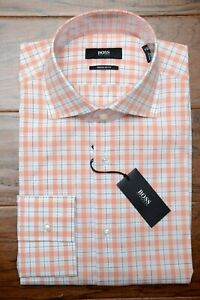 BOSS Orange Mens Topside Button Down Crewtshirt