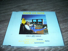 "DAVID LEE ROTH - CALIFORNIA GIRLS * RARE 3"" CD MAXI SINGLE GERMANY 1988 *"