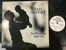 "FAD GADGET FOR WHOM THE BELLS.. UK 12"" MUTE RECORDS ANTON CORBIJN SLEEVE RARE !!"