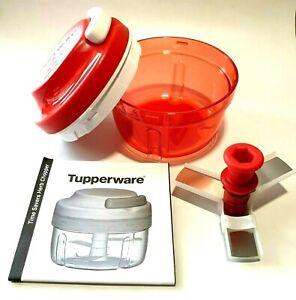 Turbo Chef - Tupperware - Zwiebelhacker - Rot - Neu!!