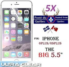 "5X Protecteur Ecran HD clair iphone 6Plus 5.5"" 6 Plus + Clear screen protector"
