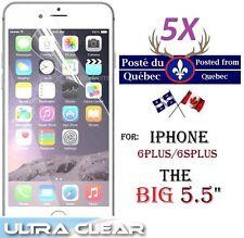 "5X Protecteur Ecran HD clair iphone 6Plus 5.5"" 6 Plus + Clear screen protector"