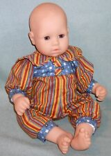 "Jester Pajamas! Playsuit fits 16"" Chou Chou, Baby Born Artist Brand Doll Clothes"