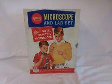 GILBERT Microscope and Lab set 1961 Vintage