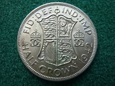 1942 Silver Half Crown Higher grade