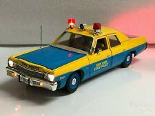 "1974 Dodge Monaco ""New York State Police"" 1/18 WORKING LIGHTS NYSP Trooper Retro"