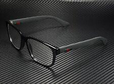 GUCCI GG0011O 005 Rectangular Square Black Demo Lens 55 mm Men's Eyeglasses
