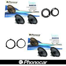 Kit 4 casse Altoparlanti Phonocar Fiat Panda 169 Da 2003> Anteriori + Posteriori