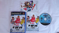 SET KOMPLETT FIFA 2004 FUßBALL FUßBALL SOCCER PLASYTATION 2 PS2 PAL SPANIEN