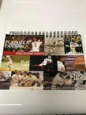 2009 St Louis Cardinals Ticket book--Many TIckets still attached inside