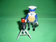 Playmobil Réf: 4900-A Policier/radar