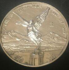 1997 Mexican Libertad 2 oz .999 Fine Silver Coin not premium coin - VERY RARE