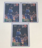96–97 Fleer Basketball Kevin Garnett #64 2nd Year Card Lot Of 3 T-Wolves Retro