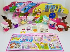 SERIE COMPLETA HELLO KITTY (FF325 C - FF332 C) + 8 BPZ KINDER GERMANIA 2017
