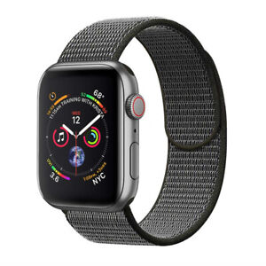 Nylon Sport Loop iWatch Band For Apple Watch Series 6 5 4 3 2 1 SE 38/42/40/44mm
