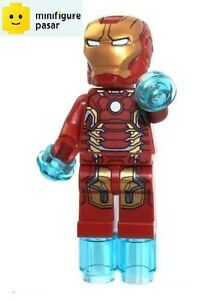 sh167 Lego Super Heroes 76031 76038 76032 - Iron Man MK43 Minifigure - New