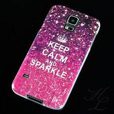 Samsung Galaxy S5 / S5 NEO Silikon Case Schutz Hülle Cover Etui Keep Sparkle