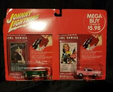 johnny lightning calender girl series coca cola two pack