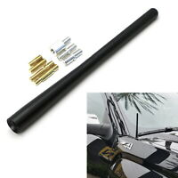 "7"" Short Matte Black Radio Antenna Topper For Chevy Silverado GMC Sierra Canyon"