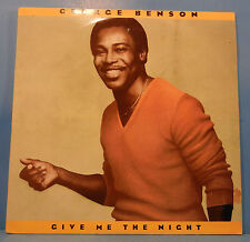 GEORGE BENSON GIVE ME THE NIGHT LP '80 UK ORIGINAL PRESS GREAT COND! VG++/VG+!!A