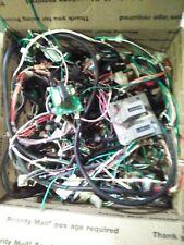 konami police 911 arcade wire harness with test switch