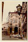 FOTO ANTIGUA, ARCO DE CUCHILLEROS DESDE LA CAVA DE SAN MIGUEL, MADRID 1971