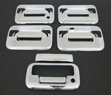 2004-2014 FORD F150 4 DR CHROME DOOR + TAILGATE HANDLE COVER+NO KEYPAD
