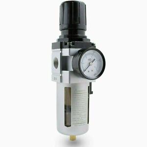 Druckluft Wartungseinheit 1/2 Druckminderer Wasserabscheider Öler Filter