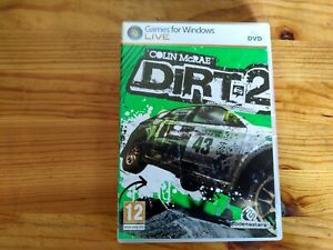 COLIN McRAE DIRT 2 - 2009 PC GAME - FAST POST - ORIGINAL & COMPLETE WITH MANUAL