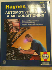 HAYNES TECHBOOK AUTOMOTIVE HEATING & AIR CONDITIONING MANUAL 1993 merc gm bmw vw