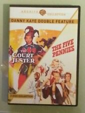 danny kaye  THE COURT JESTER / THE FIVE PENNIES   DVD   2 disc set