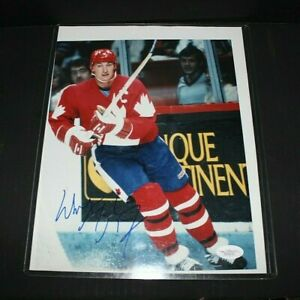 Wayne Gretzky Auto/Signed 8x10 (Team Canada) JSA COA! LooK!