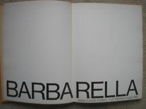 BARBARELLA  J.C. FOREST EO le terrain vague 1964