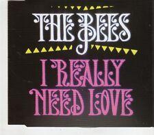 (GV235) The Bees, I Really Need Love - 2010 DJ CD