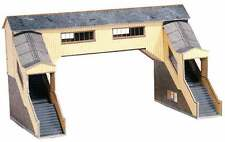 OO Building Card kit - Covered Footbridge - Superquick A9