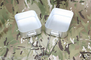 Highlander British Army Style Mess Tins / Kit / Billy cans Ideal cadets & scouts