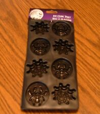 Halloween Spider & Webs Ice Cube  or Jello Tray-NEW