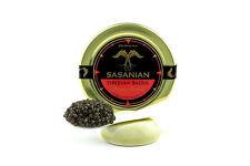 C&C Fresh Farmed Siberian Sturgeon Osetra Black Caviar 2 oz 56 gr Jar + 36 BLINI