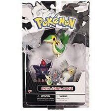 Pokemon Basic Figure 3 Pack - Black & White Series 1 - SNIVY, ZORUA & PIDOVE