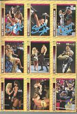 Eb1111 Sunny signed Wwf Wrestling Magazine Card Panel w/ Coa *Bonus*