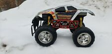 Rare maximum destruction monster truck RC 49 mhz 7.2 v Tom Meents 1:6 scale huge