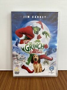 The Grinch DVD With Special Features Perfect Condition! PG Dr Seuss Christmas