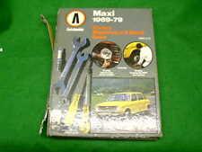 MAXI 1969 - 1979 1485cc 1748cc USATO AUTOBOOKS Workshop Manuale