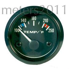 """2"""" Water Temperature Gauge (100 - 250 F) 12 volt - ROUND"""