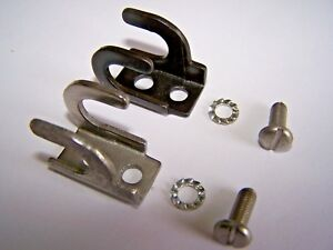 JOHNSON EVINRUDE OMC CONTROL CABLE LOCK CONNECTOR CLAMPS CLIPS 305736 305737