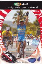 CYCLISME carte cycliste MORENO DI BIASE équipe MOBILVETTA